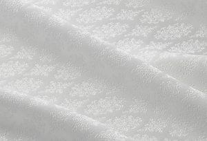純国産絹【松岡姫】伊と幸の色無地用白生地で人気の紋唐織